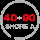 hardness range 40-90