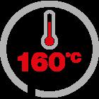 max temp 160°C