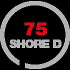 hardness 75 ShD